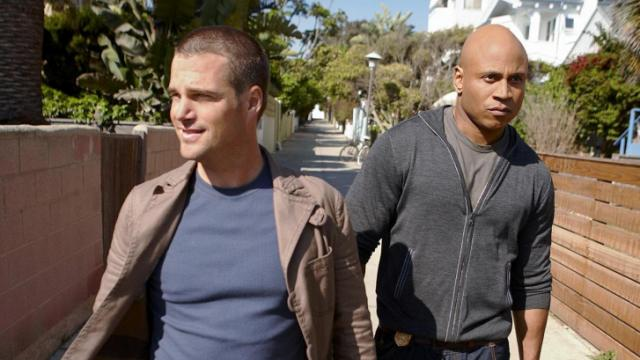 "Chris O'Donnell stars as, agent ""G"" Callen and LL COOL J stars as Special Agent Sam Hanna in NCIS: LOS ANGELES, in NCIS: LOS ANGELES, a drama about the high stakes world of undercover surveillance at the Office of Special Projects (OSP), a division of NCIS, to premiere this Fall, Tuesdays (9:00-10:00 PM ET/PT) on the CBS Television Network. This photo is provided for use in conjunction with the CBS Summer 2009 Press Tour.  Photo: Joseph Cultise/CBS