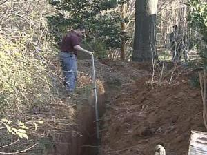 Uphill Struggle for Downhill Link to Cary Sewer System
