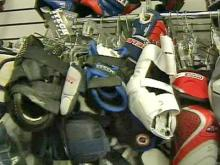 Used sports equipment can get big discounts