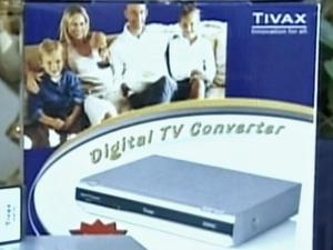 Analog sets will require a digital television converter starting in Feb. 2009.