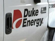 A Duke Energy truck