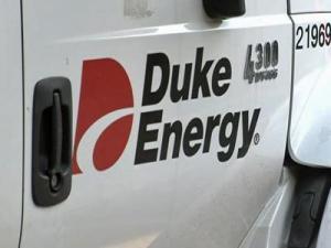 A Duke Energy truck