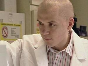 P.J. Lukac, a 24-year-old med student, was diagnosed with a glioblastoma.