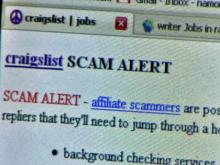 Online job seekers should beware: Scammers are using job postings to steal people's money and identity.
