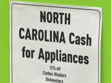 30 percent of appliance rebates claimed on first day