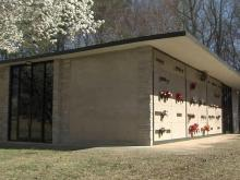 Woman finds mausoleum niche already filled