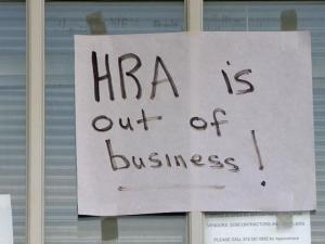 HRA in Cary is out of business.