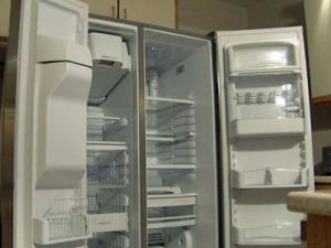 Marian Hawkins' GE Profile refrigerator stopped keeping things cool.