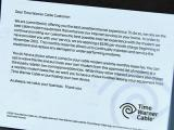 Time Warner Cable notice