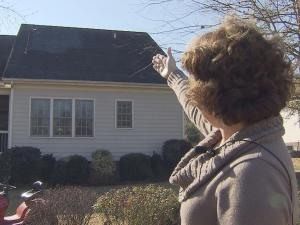 Clayton resident Joyce Graham said part of her roof was mistakenly removed by a Garner company.