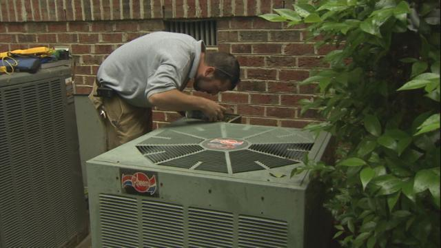 When it's boiling hot outside, it's time to turn down the temperature inside. But anyone who has called an air conditioning repairman lately for a freon boost knows prices are up after the federal government banned production of the popular R-22 refrigerant.