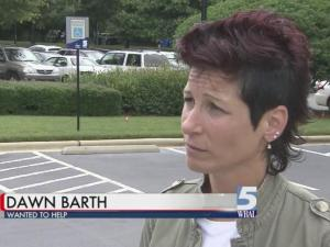 Dawn Barth helps veteran Ron Rhue after he was scammed by a job training claim
