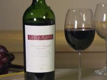 Louis Martini wine