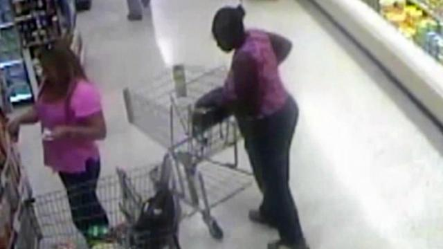 Shoppers reminded to guard against purse thieves