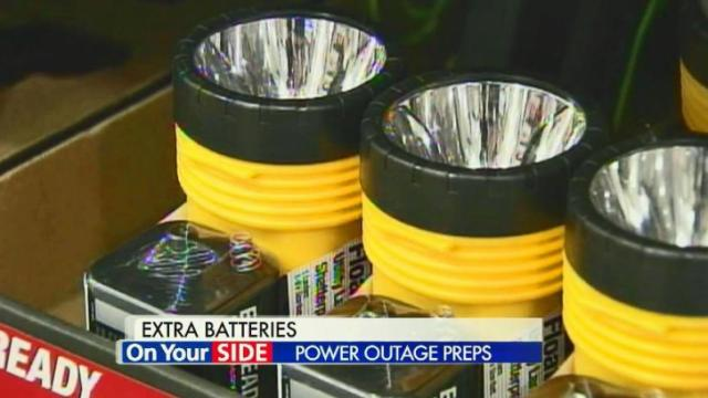 Plan ahead for winter power outages