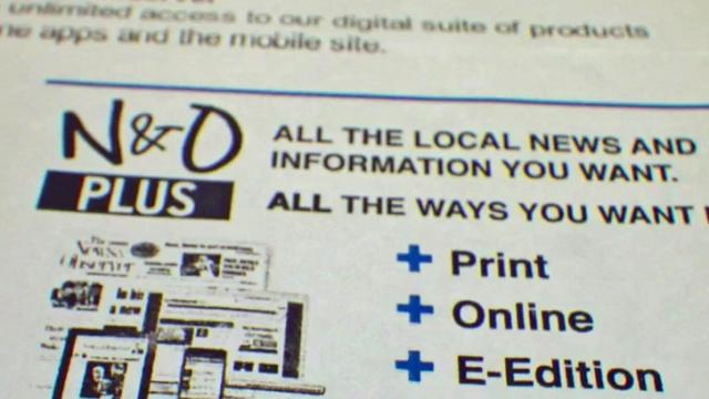 Fine print confuses some N&O subscribers