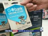 Walmart offers online banking