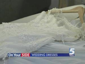 Brides spend more than $1,200 on average for their dresses, but it's possible to get what you want for a lot less than you think.