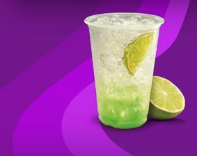 Taco Bell Limeade Sparkler