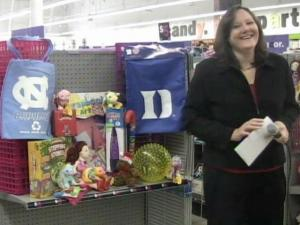 WRAL's Smart Shopper Faye Prosser checks out the deals at the new Five Below store in Cary's Crossroads shopping center.