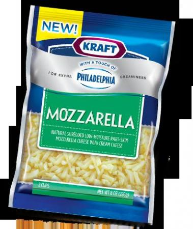Kraft cheese with a touch of Philly