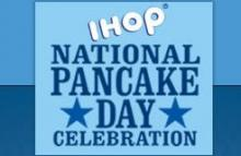 National Pancake Day this year comes right on the heels of America's second-biggest pig-out day of the year - Super Bowl Sunday (Thanksgiving is No. 1, according to DietDetective.com). But your diet can wait another day.