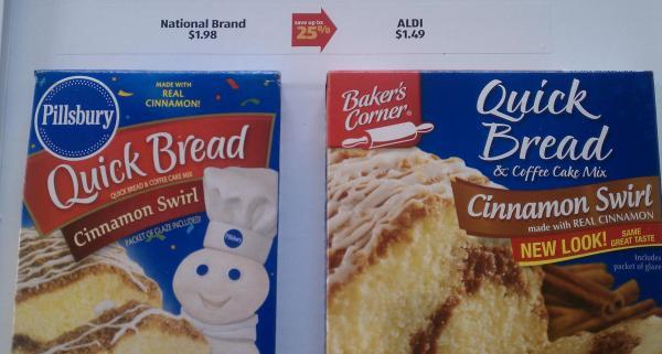 ALDI coffee cake comparison