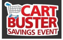 Kroger is offering another Cart Buster Deal of the Day e-coupon promotion through October 20. Read on to find out how this works.