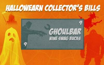 Swagbucks Halloween Collector's Bills