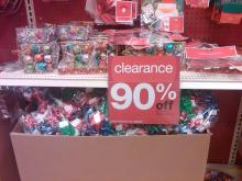 Christmas clearance