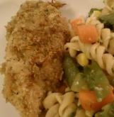 Parmesan garlic breaded chicken