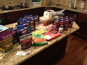 Erin's Harris Teeter haul!