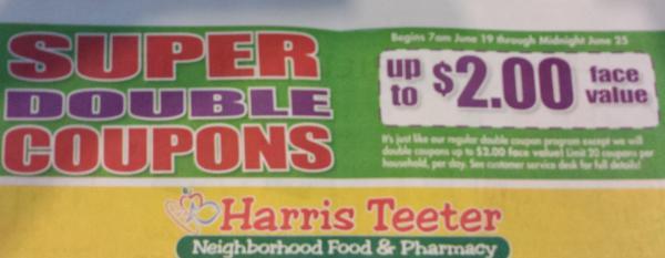 Harris Teeter Super Doubles ad 6-19-2013
