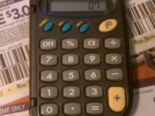 Calculator photo