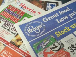 Coupons, circulars, newspaper inserts