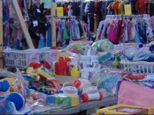 Carolina Kids Consignement sale, March 7 - 9, 2014.