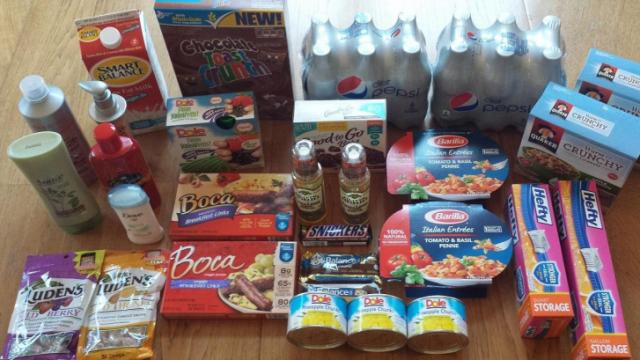 Harris Teeter Super Doubles products for $1.22!