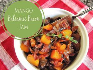 Diana's Mango Balsamic Bacon Jam
