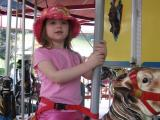 Fun on the carousel