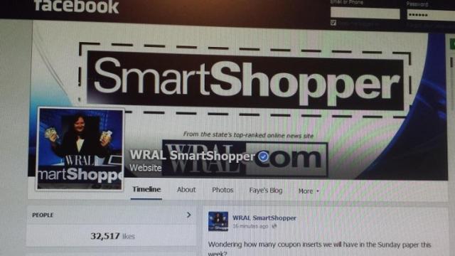 Smart Shopper Facebook page