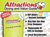 Attractions coupon book