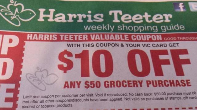 Harris Teeter coupon
