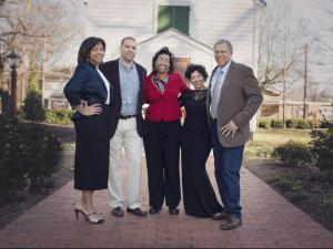 McDonald's owner/operator Gaffney W. Gunter and family