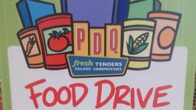 PDQ Food Drive