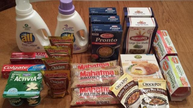 Faye's Super Doubles groceries