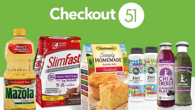 Checkout51 cash back offers