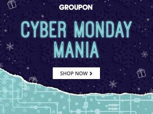 Groupon Cyber Monday Event