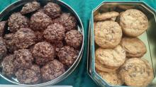 Guests shared savings and sweets at the annual Smart Shopper coupon and cookie swap.