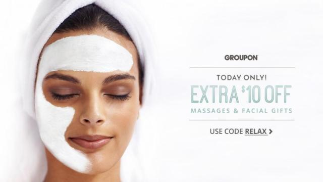 Groupon massage discount