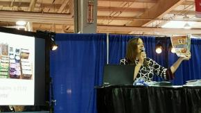 Teaching at the Southern Women's Show 2016